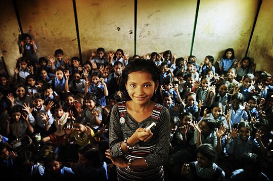 Dewi (10 jaar), Delhi
