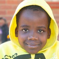 Bradley * (10) uit Zimbabwe