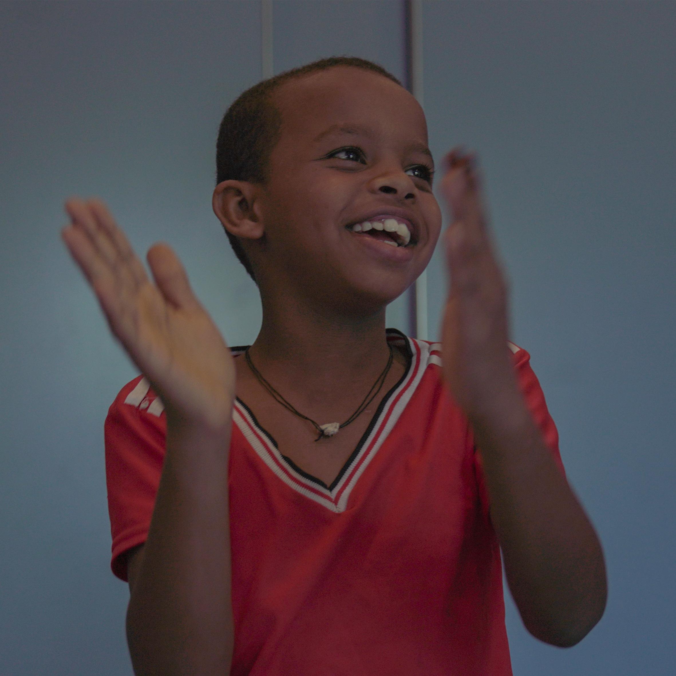 Jesus liet alles achter toen hij uit Eritrea vertrok. Nu zit hij in Nederland op school en voelt hij zich weer op zijn gemak. <a href=