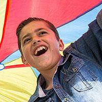 De 11-jarige Malik* vluchtte met zijn ouders en drie broers (2, 10 en 17) uit Syrië. Na een lange reis kwamen ze in Nederland aan. <a href=
